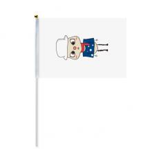 澳大利亚大洋洲堪培拉国旗悠悠 8号手挥手摇旗帜体育赛事助威4面