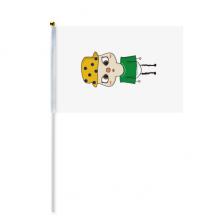 巴西葡萄牙语国旗悠悠 8号手挥手摇旗帜体育赛事助威4面