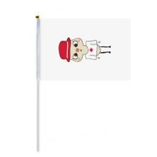 加拿大国家枫叶渥太华国旗悠悠 8号手挥手摇旗帜体育赛事助威4面