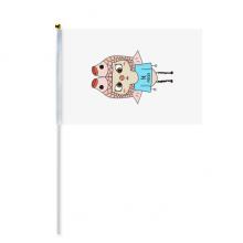 星座运势双鱼座木星悠悠 8号手挥手摇旗帜体育赛事助威4面