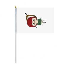 星座运势射手座宙斯悠悠 8号手挥手摇旗帜体育赛事助威4面