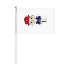 古巴国家岛屿国旗悠悠 8号手挥手摇旗帜体育赛事助威4面