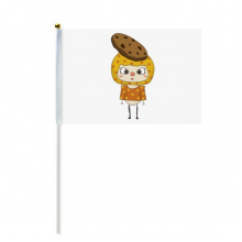 食物曲奇饼干甜的零食悠悠 8号手挥手摇旗帜体育赛事助威4面