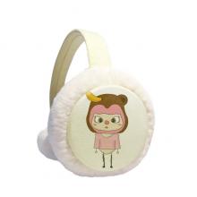 动物猴子大自然淘气香蕉悠悠 冬季可折叠保暖耳套耳罩护耳挂耳包礼物