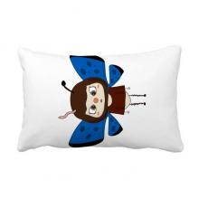 动物蝴蝶彩色大自然虫子悠悠 抱枕靠枕腰枕沙发靠垫含芯居家抓鬼你是