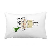 动物斑马大自然植物草悠悠 抱枕靠枕腰枕沙发靠垫含芯居家抓鬼你是