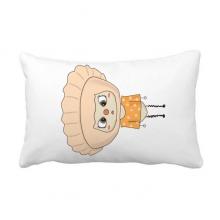 食物饺子中国煮面粉美味悠悠 抱枕靠枕腰枕沙发靠垫含芯居家抓鬼你是