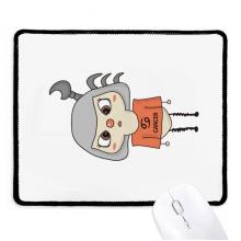 星座运势巨蟹座月亮悠悠 游戏办公防滑橡胶黑边鼠标垫礼物