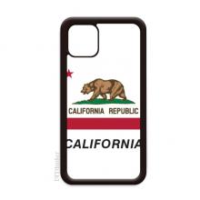 美国州旗帜轮廓加利福尼亚 适配于iPhone 11手机壳apple苹果手机保护套