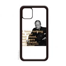 丘吉尔英国首相格言 适配于iPhone 11手机壳apple苹果手机保护套