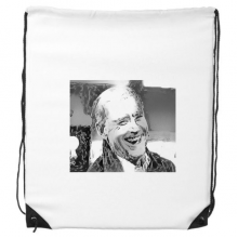 拜登美国总统嘲笑鄙视 运动背包购物包双肩拉带球包礼物