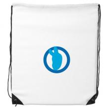 美国党徽个体民主政治简约 运动背包购物包双肩拉带球包礼物