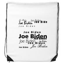 美国总统人物拜登文字排版 运动背包购物包双肩拉带球包礼物